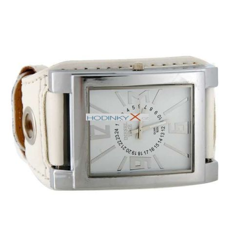 Unisex Hodinky DIESEL Fashion Strap bílé b34aecfa804
