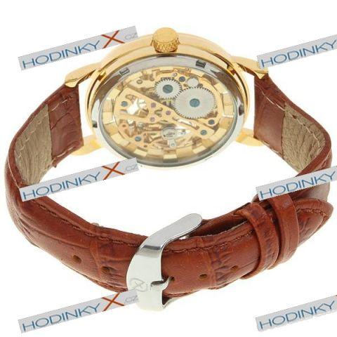 skeleton zlate uvod damske hodinky panske hodinky luxusni hodinky ...